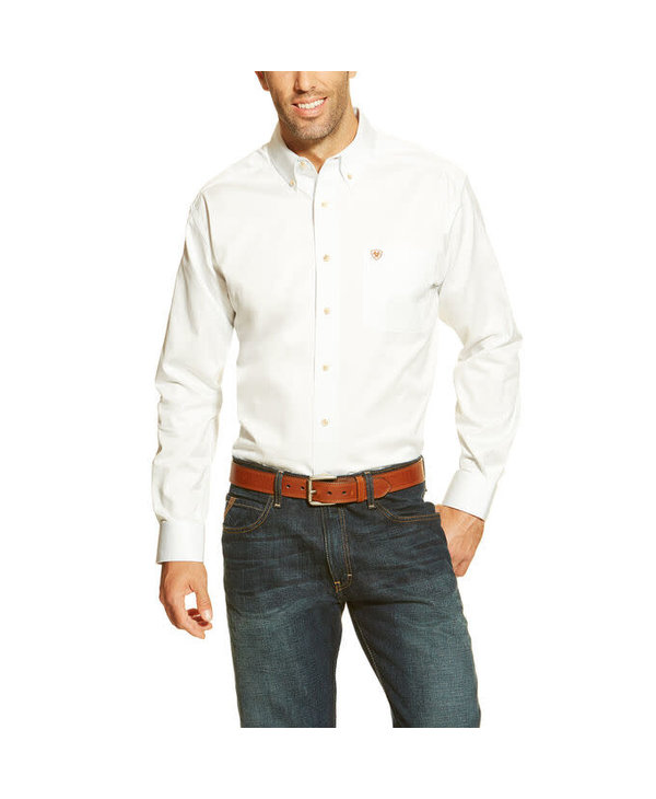 Chemise Ariat blanche pour homme