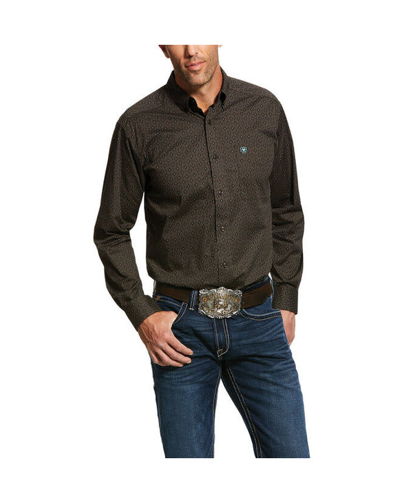 Chemise Ariat gris charcoal