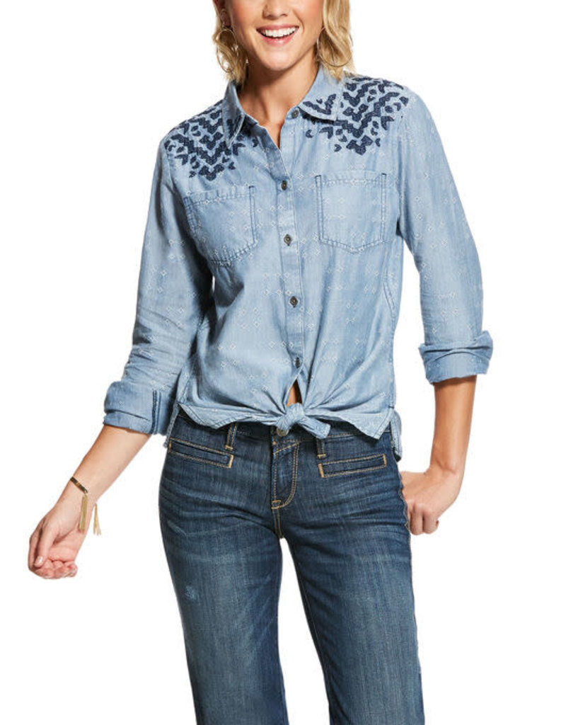 Ariat Chemise Chambray Ariat
