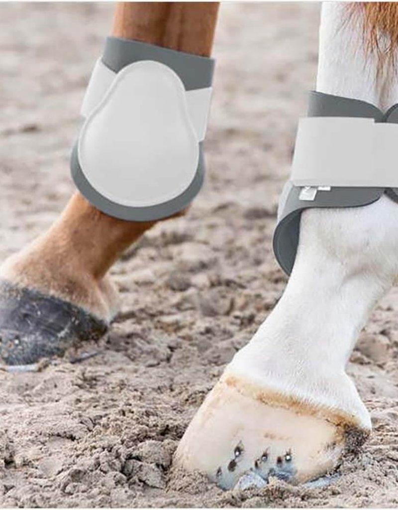 Horze Bottes protectrice arrière blanche - Cob