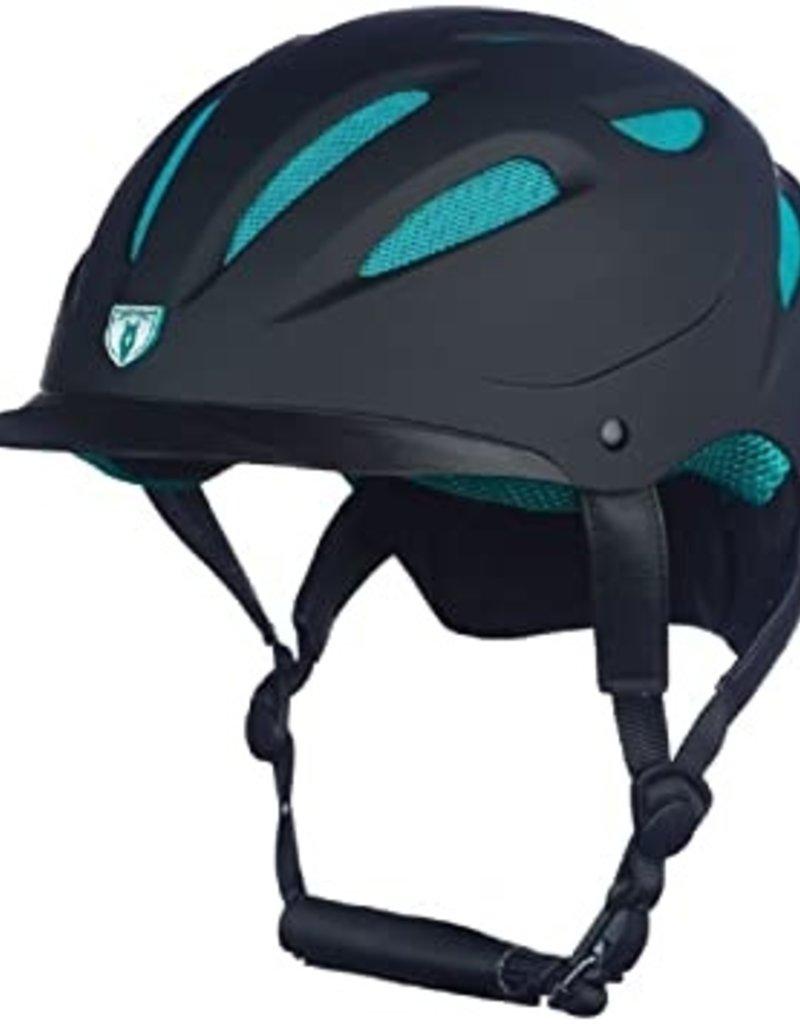 Tipperary Bombe Sportage Hybrid noir & turquoise avec mesh - S