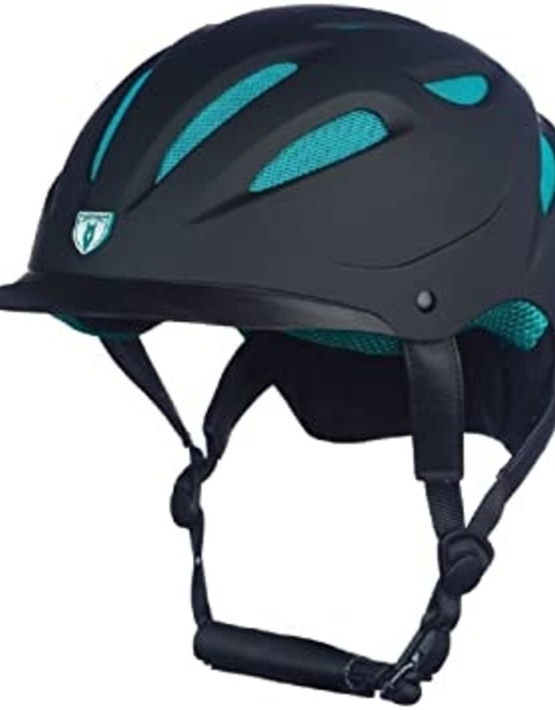 Tipperary Bombe Sportage Hybrid noir & turquoise avec mesh - M