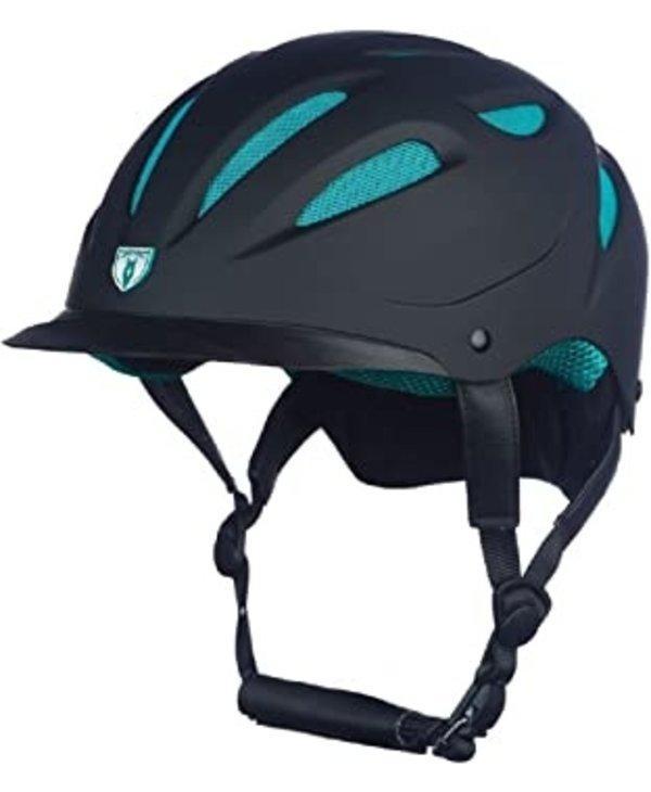 Bombe Hybrid Noir Mesh Turquoise - L