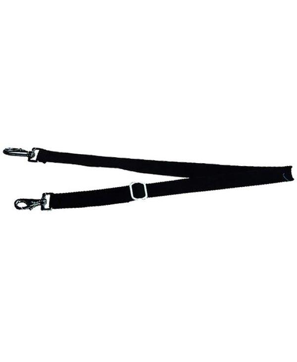 Elastic leg straps