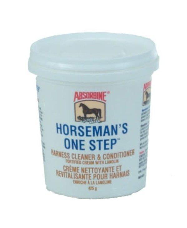 Creme pour le cuir Horse man one step Absorbine