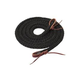 Weaver Reines tressées 8' Weaver - Noir