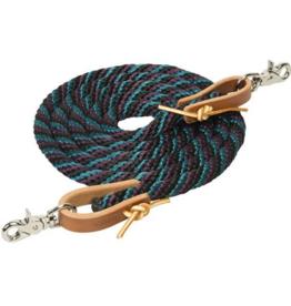 Weaver Reine en corde Weaver burgundy vert
