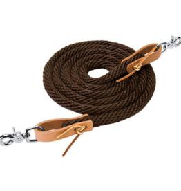 Weaver Reine en corde - brun