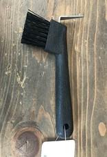 Western Cure pied noir avec brosse