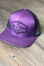 Crowelz Casquette Signature Crowellz Live/Ride Grape