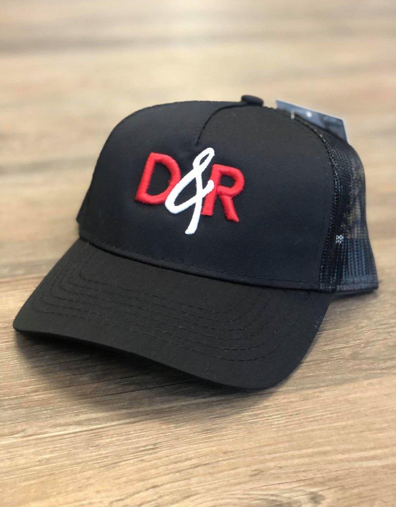 Casquette D&R rouge poney tail