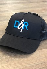 Casquette D&R logo turquoise Poney tail