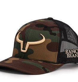 Casquette Ranch Brand-Noir/Camo