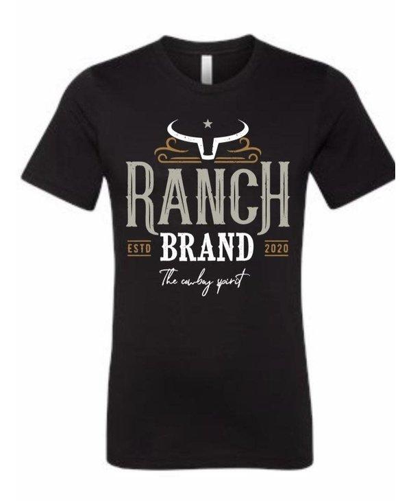Chandail Ranch Brand médium-Homme-Noir