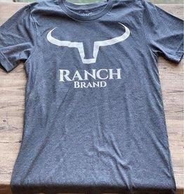 T-Shirt Ranch Brand gris bleuté pour homme