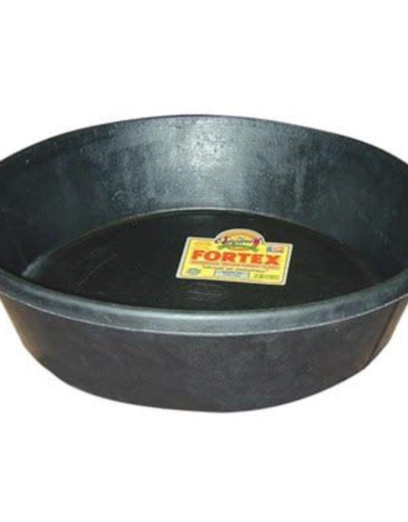 Western Fortex Feeder Pan 3Gal-Noir