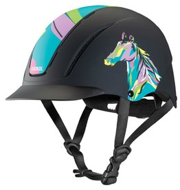 Cavalier Bombe spirit pop art pony - XS