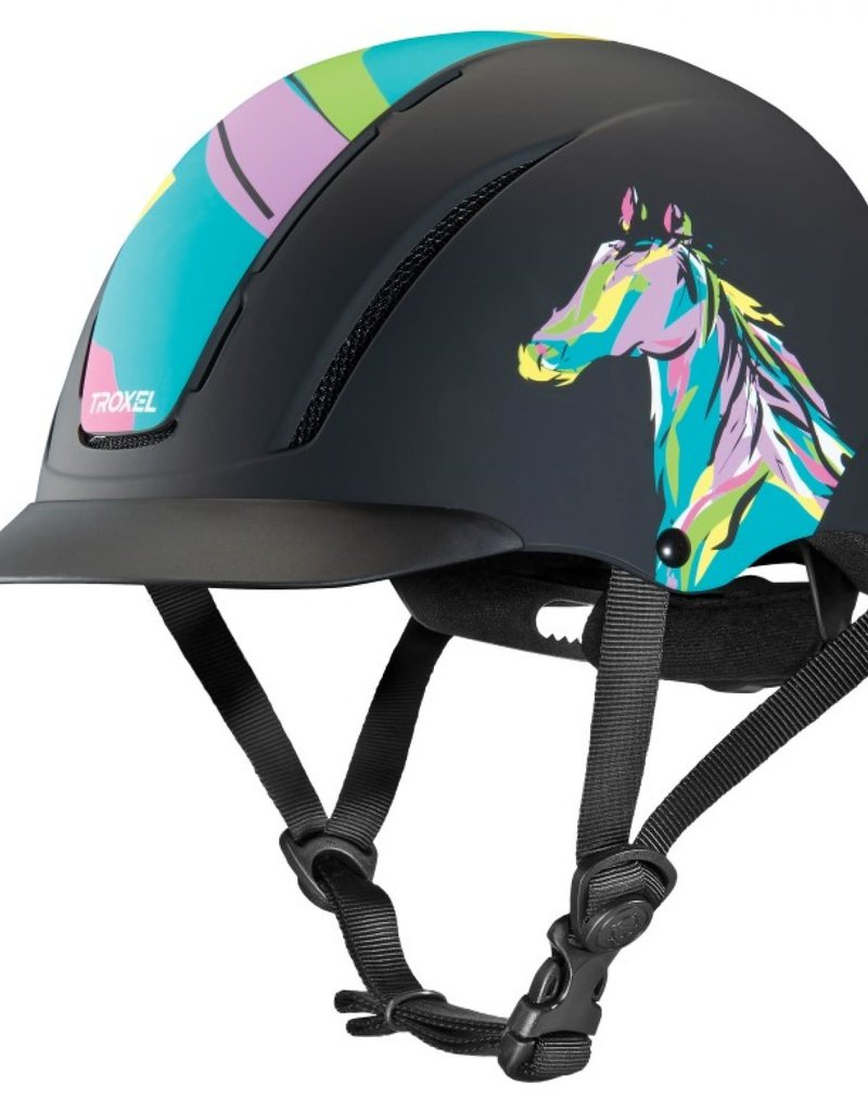 Cavalier Bombe spirit pop art pony - XS