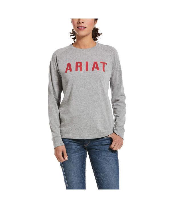 Chandail Rebar Ariat gris