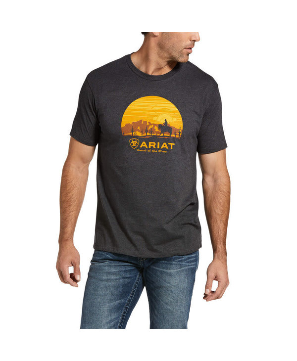 Ariat Fragment Cowboy T-Shirt