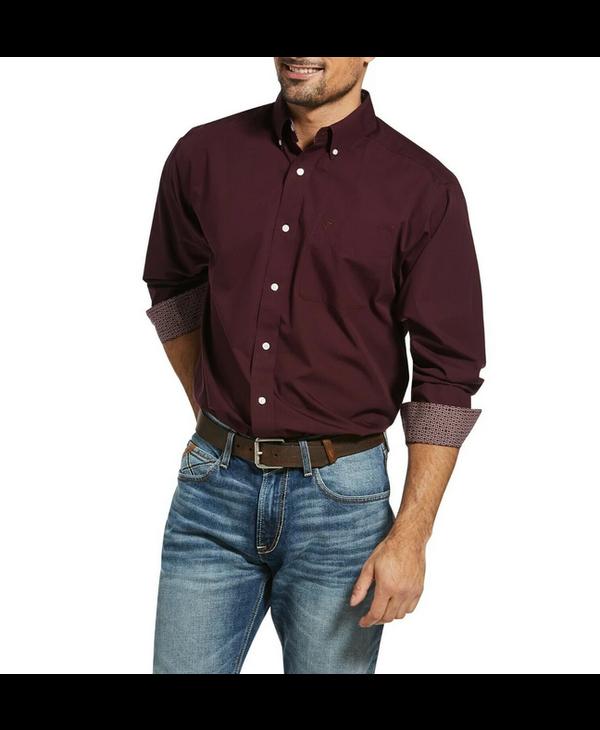 Ariat WF Solid LS Shirt