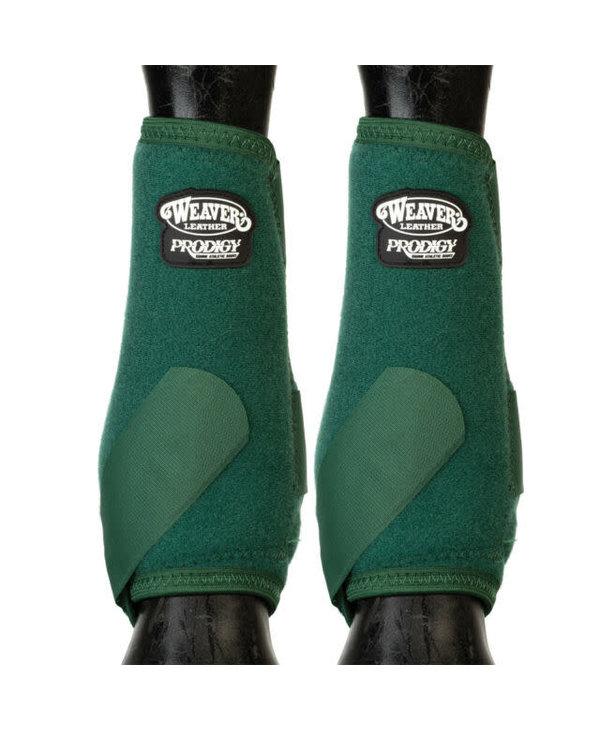 Bottes de Protection vert chasseur avant Medium