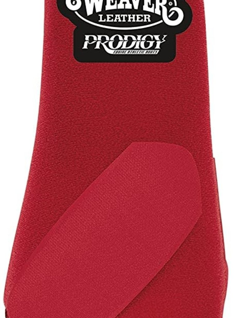 Weaver Bottes de Protection rouge avant Small