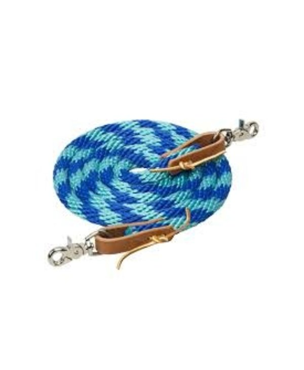 Reine Wever bleu-turquoise
