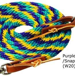 Reine jaune/mauve/bleu 3/8' Weaver