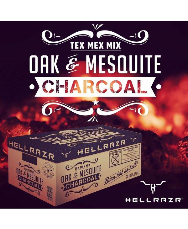 Charbon Mesquite et Chêne 20 LB