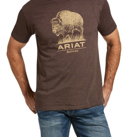 Ariat T-shirt Buffalo built Homme