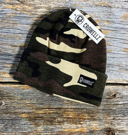 Crowelz Tuque Camo Crowellz verte