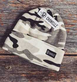 Crowelz Tuque Crowellz Camo blanche