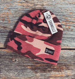 Tuque Crowellz camo Rose