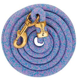 Laisse Weaver mosaic lila/bleu/vert lime