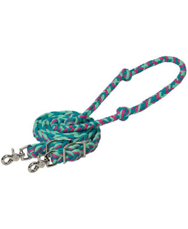 Rene Baril ecoluxe Bamboo rose/menthe /turquoise