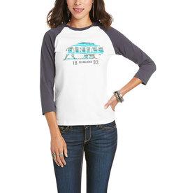 Ariat Real Plains 3/4 SLV T-Shirt