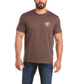 T-Shirt Ariat homme brown heat