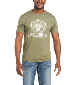 Ariat T-Shirt Ariat Olive military heat