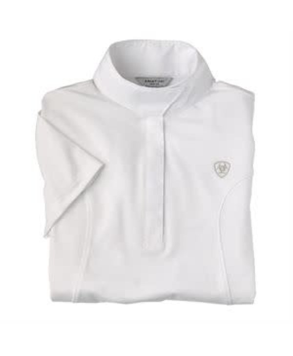 Aptos show shirt Ariat blanc