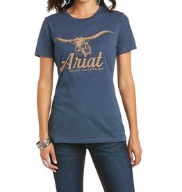 Ariat T-Shirt Ariat Vaquera marin