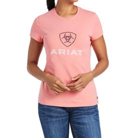 Ariat T-Shirt Ariat HD logo Corail