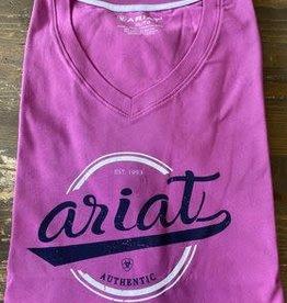 Ariat Authentic Logo T-Shirt Meadow Mauve
