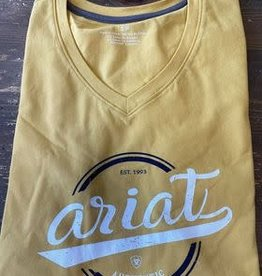 Ariat Authentic Logo T-Shirt Meadow Yellow