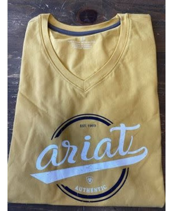 Authentic Logo T-Shirt Meadow Yellow