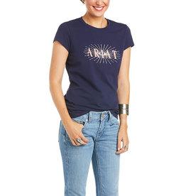 Ariat T-Shirt Ariat Real Sundown Navy