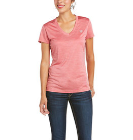 Ariat T-Shirt Laguna Ariat Frayed red