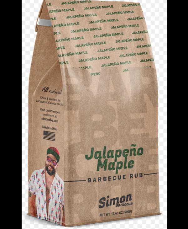 Épices a Froter Jalapeno et érable Simon BBQ
