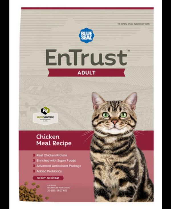 Entrust pour chat- Poulet 9kg