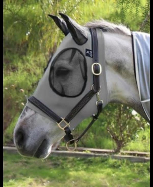 Masque à mouche Pro Choice gris - Oversize